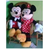 boneka mickey / minnie mouse jumbo