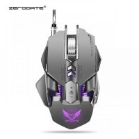Original ZEREDATE X300GY Mechanical Gaming Mouse 7 Keys USB Grey