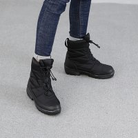 Padding fur ankle boots 7CKQM31_CLEAR