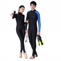 Baju Renang Wanita Full Body Diving Style Swimsuit Size S - Pink