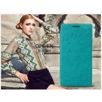 Kalaideng Enland Leather Case OPPO Find 5   Flip cover Flipcover Green
