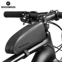 Rockbros Tas Rangka Saddle Sepeda Waterproof Aerodynamic Bag - Black