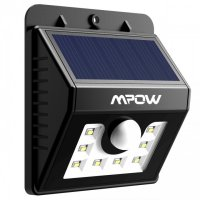 MPOW MSL5 - 8 LED Outdoor Solar Wall Light Motion Sensor Waterproof