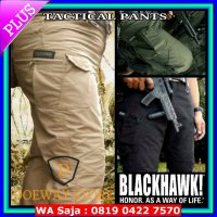 (Ready) CELANA GUNUNG CARGO OUTDOOR ADVENTURE TACTICAL PANJANG PRIA BLACKHAWK