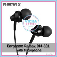 Earphone Remax RM-501 with Microphone Headset Handsfree
