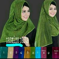 Pashmina pesta celebrities