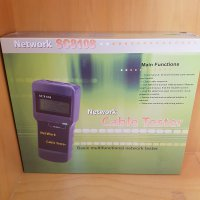 M.U.R.A.H Network SC8108 - Multifunctional Cable Lan / RJ45 Cat5 Tester LCD