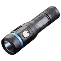 JETBeam C8 Pro Tactical Senter LED Cree SST-40 N4 BC 1200 Lumens - Black