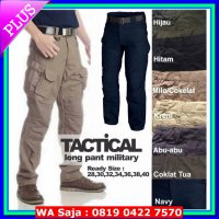 (Promo Hari Ini) celana panjang tactical cargo outdoor army military camping blackhawk