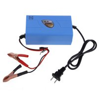 Charger Aki Mobil Motor 12V 6A - Blue