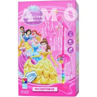 (Star Product) MICROPHONE PRINCESS 8017A - MAINAN ANAK CEWEK MICROPHONE MP3