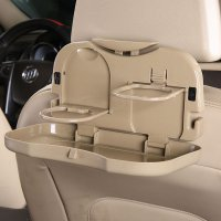 Car Multifunction Foldable Seat Back Meal Table / Meja Lipat Mobil - Brown