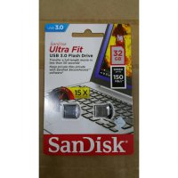 SANDISK FLASHDISK 32 GB ULTRA FIT CZ43 USB 3.0 UP TO 150 MB/S 32GB