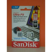 SANDISK FLASHDISK 16 GB ULTRA FIT CZ43USB 3.0 UP TO 130 MB/S - 16GB