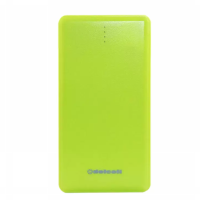 Delcell NOTE Powerbank Slim 10500mAh Real Capacity Polymer Battery - Hijau