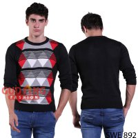 Sweater Rajut Kombinasi Warna SWE 892
