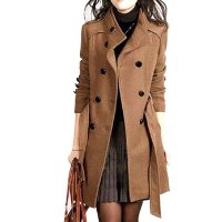 DEENA BLAZER KOREA / SWEATER / JAKET / COAT WANITA BROWN