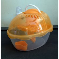 [Best Seller] Kandang Hamster / Pet Doctor Egg Shape Cage Hamster House 002979