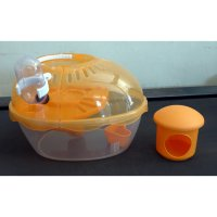 BEST Kandang Hamster / Pet Doctor Egg Shape Cage Hamster House 002979
