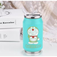 Botol Minum Kaleng Termos Insulated Mug 300ml / Thermos - Blue