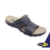 HOMYPED SIENTA 01 SANDAL PRIA BLACK & COFFEE