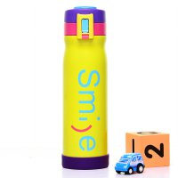 Botol Minum Thermos Stainless Steel My Smile 500ml - Yellow
