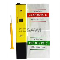 Alat Ukur Air Hidroponik - pH Meter (Pen Type PH-009)