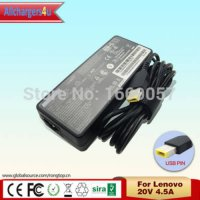 [globalbuy] Original AC Adapter 20V 4.5A 90W Square Pin for Lenovo ThinkPad X1 Carbon Ultr/2381714