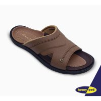 HOMYPED SANDAL PRIA SANTANA 02 TAN & COFFEE
