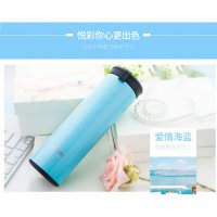 QKELLA Botol Minum Thermos Stainless Steel 450ml - Blue