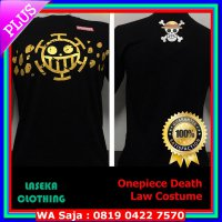 #Kaos Kaos Distro Baju Murah Anime Kartun ONEPIECE One Piece Death Law