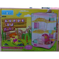 DISKON Kandang Hamster / Adventure Land For Hamster Double Deck AE23