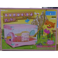 (Murah) Kandang Hamster / Adventure Land For Hamster Single Deck AE36