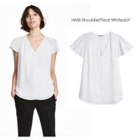 [BLOUSE] H&M SHOULDER PLEAT BLOUSE BRANDED