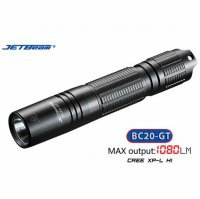 [MG]Senter JETBeam BC20-GT LED Professional CREE XP-L H