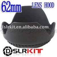[globalbuy] (Screw Mount) 62mm Lens Hood Petal Crown Flower Shape/1964498