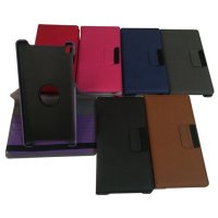 Rotary 360 derajat Samsung tab 2 10.1 p5100 flip case cover casing