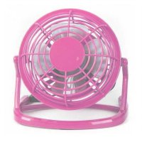 USB Fan 360 Degree Rotation Model UF009-1 - Pink