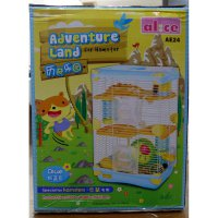 P.R.O.M.O Kandang Hamster / Adventure Land For Hamster Double Deck AE24