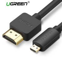 UGreen Kabel Adapter Micro HDMI to HDMI Male 3M - Black