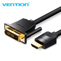 Vention Kabel Video Adapter HDMI to DVI 24+1 1080P 1M - Black