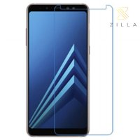 Zilla 2.5D Tempered Glass Curved Edge 9H 0.26mm for Samsung Galaxy A8 2018 - Transparent
