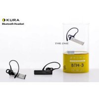 Bluetooth Headset/Earphone/Handsfree KURA BTH3 | Original 100% Stereo
