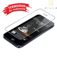 Zilla 2.5D Tempered Glass Curved Edge 9H 0.15mm for iPhone 5/5s/5c/SE