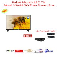 Paket murah LED TV Akari 32V89/90 Free Smart Box-Promo