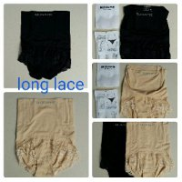 MUNAFIE LONG LACE SLIM PANTS CELANA