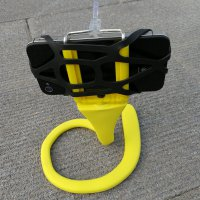 Mini Flexible Octopus Tripod for Smartphone + Action Camera - Yellow