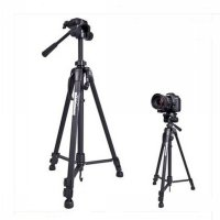 Weifeng Portable Lightweight Tripod Stand Max Height 1.58m - WF-3540 - Black