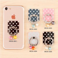 Polkadot iRing Bandul/Ring HP/Ring Stand/ Phone Holder Karakter Seri 1