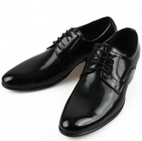 [MOODA] 2016 New Korean Trendy Fashion Business Men Shoes/ROMING(String) Black